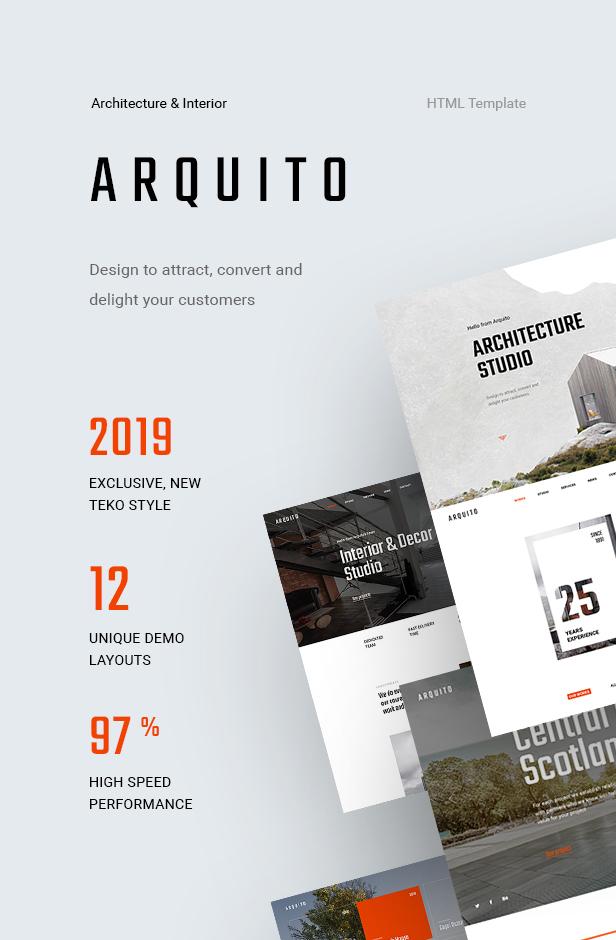 Arquito - 3D Architecture & Interior HTML Template - 5