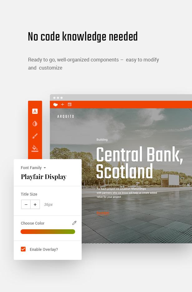 Arquito - 3D Architecture & Interior HTML Template - 7