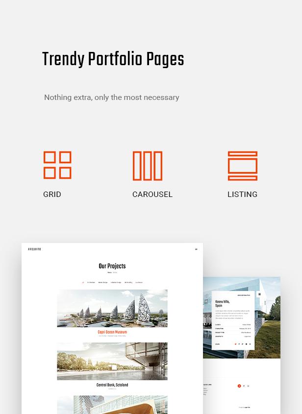 Arquito - 3D Architecture & Interior HTML Template - 8
