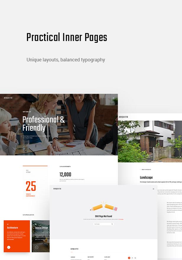Arquito - 3D Architecture & Interior HTML Template - 10
