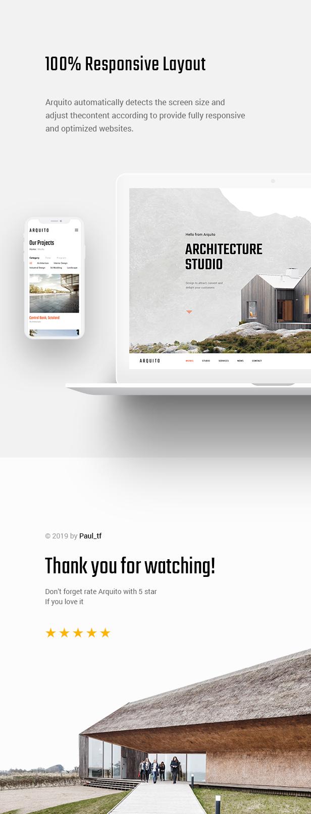 Arquito - 3D Architecture & Interior HTML Template - 11