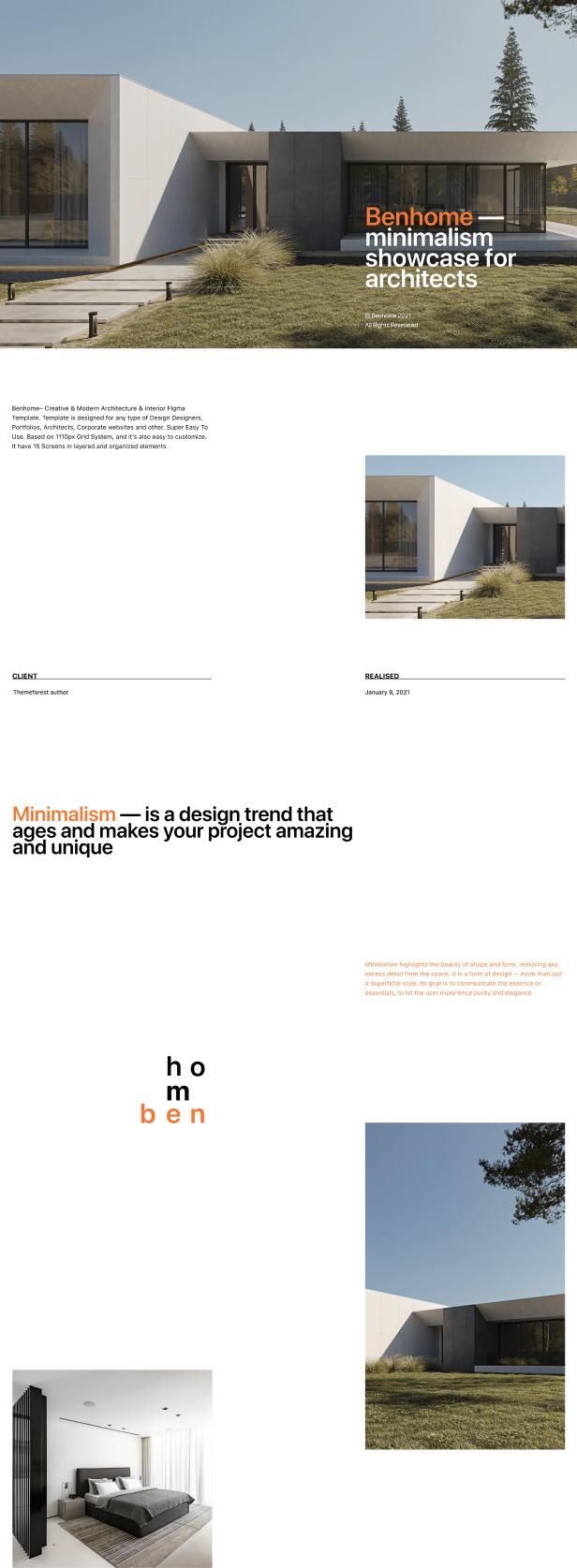 Benhome - Architecture & Interior HTML Template - 4
