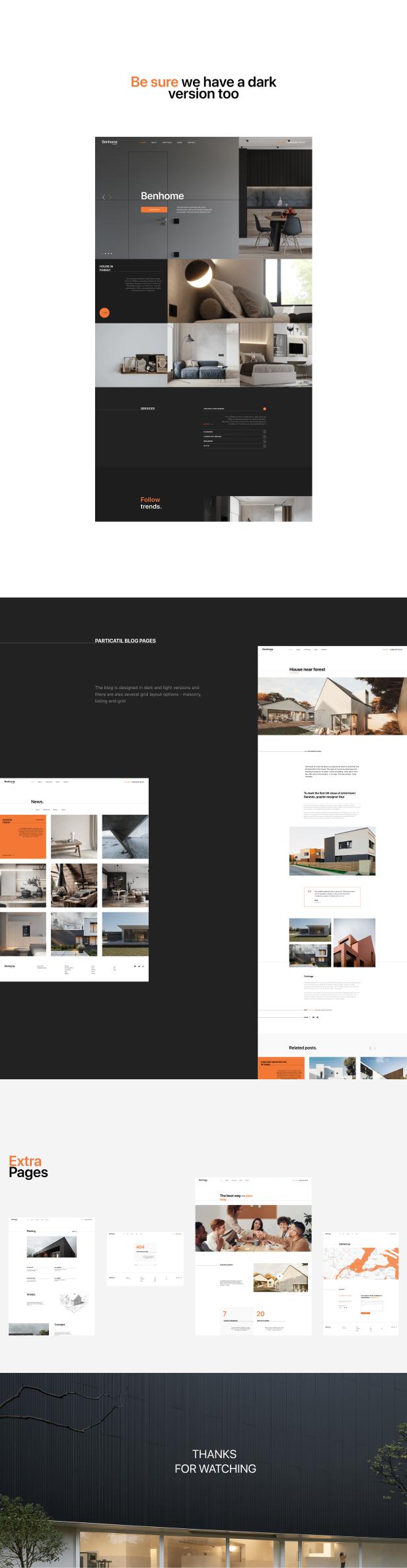 Benhome - Architecture & Interior HTML Template - 7