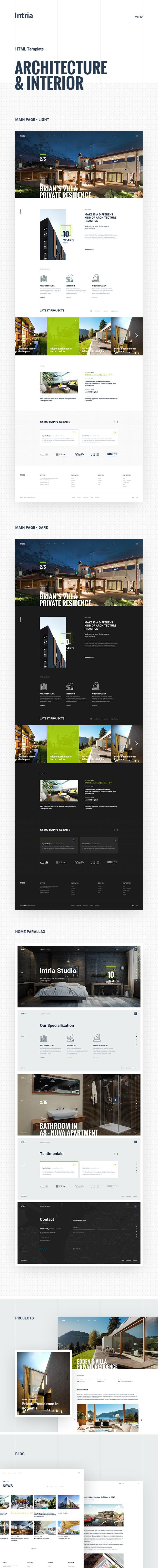 Intria - Architecture and Interior HTML Template - 5