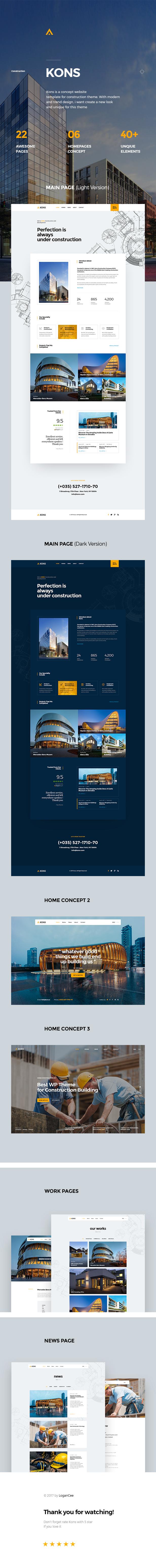 Kons - Construction and Building WordPress Theme - 5