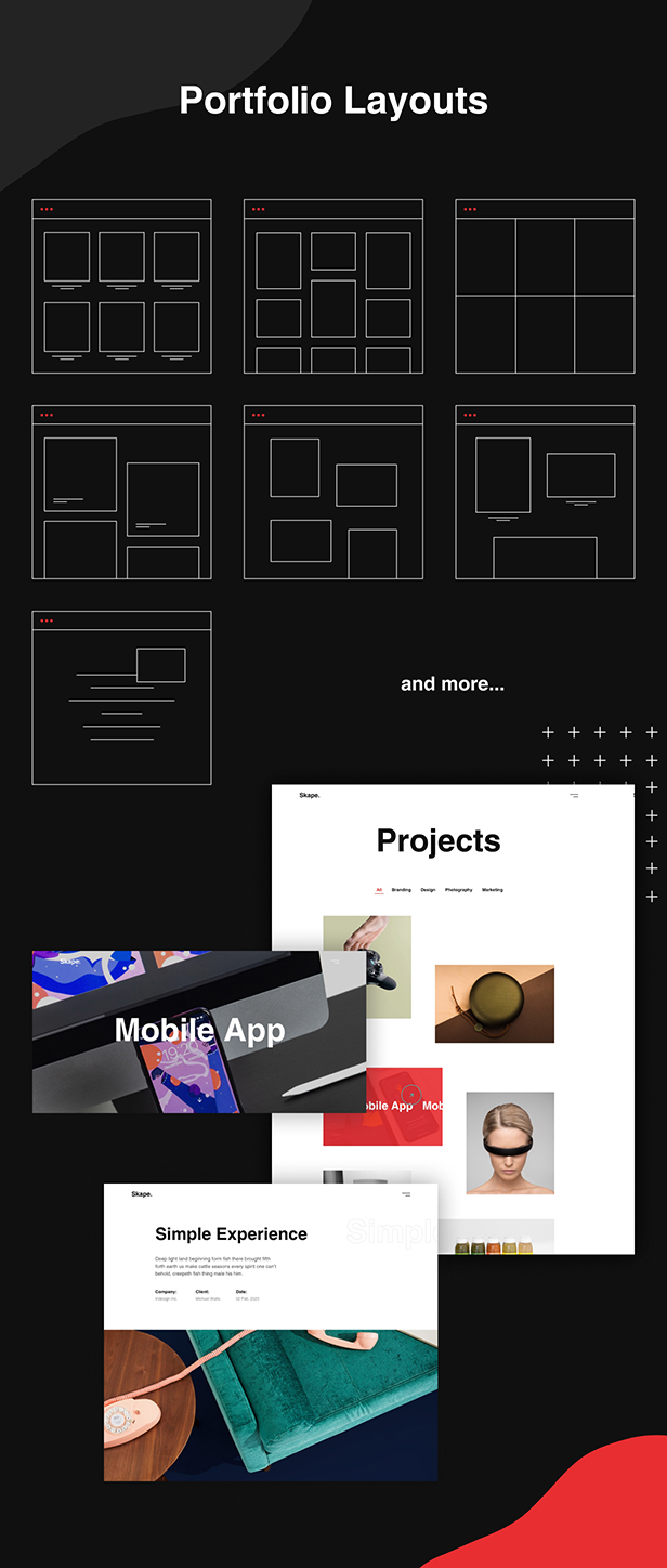 Skape - Creative & Modern Agency WordPress Theme - 7