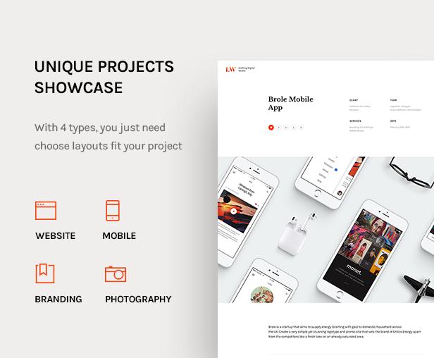 Lewis - Creative Portfolio & Agency WordPress Theme - 9