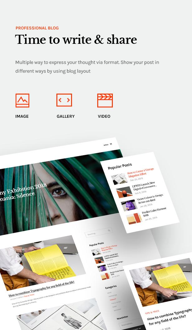 Lewis - Creative Portfolio WordPress Theme - 9