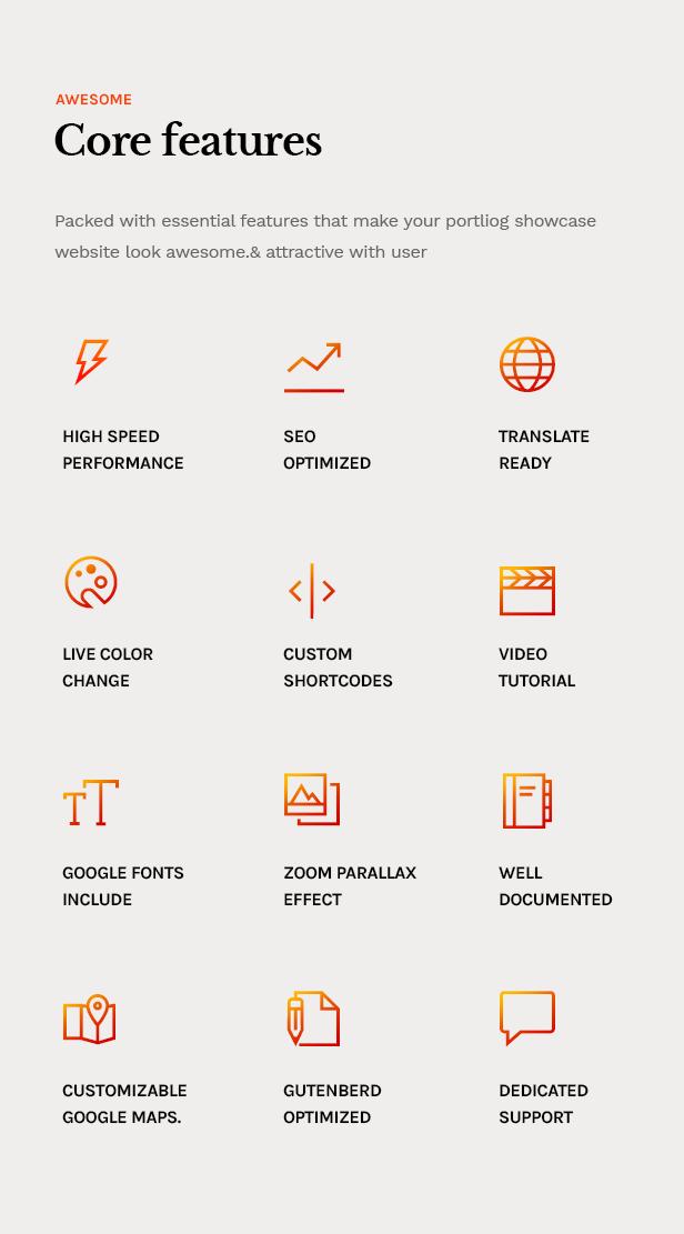 Lewis - Creative Portfolio & Agency WordPress Theme - 12