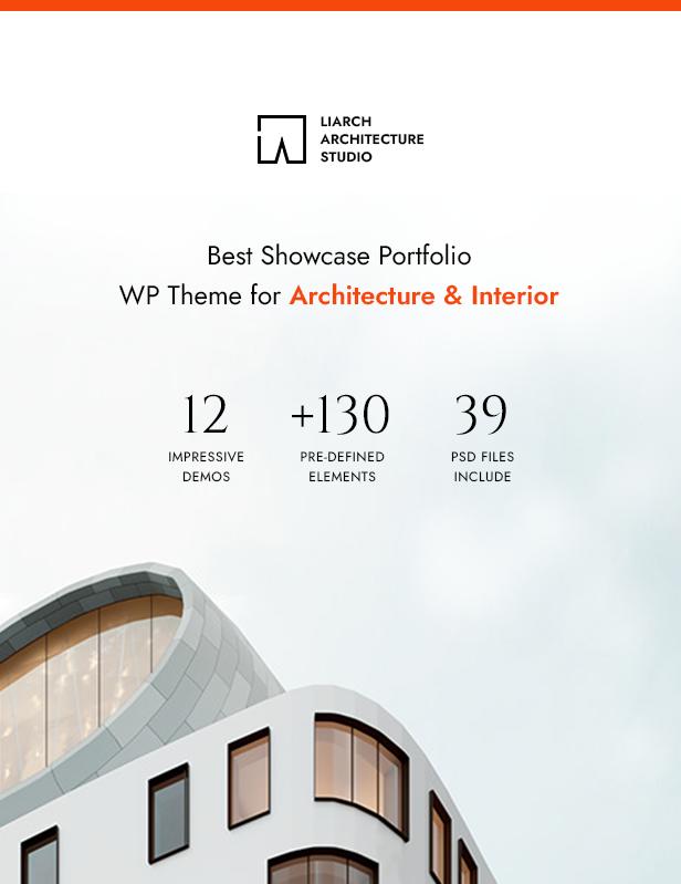 Liarch - Architecture & Interior WordPress Theme - 4