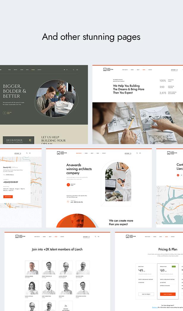 Liarch - Architecture & Interior WordPress Theme - 13