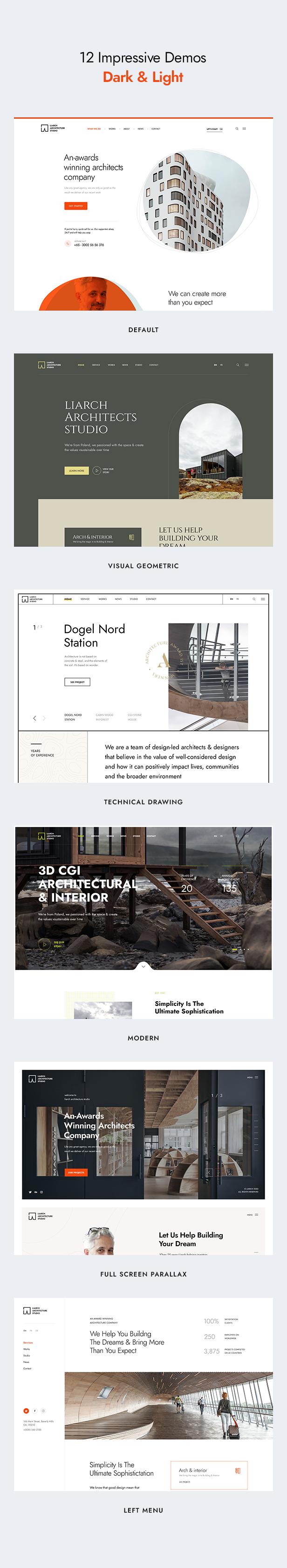 Liarch - Architecture & Interior WordPress Theme - 5