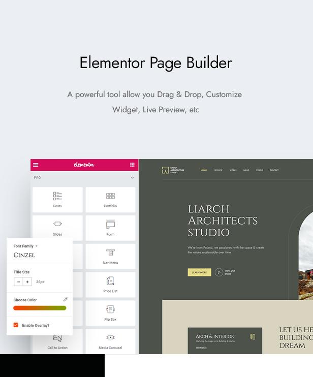 Liarch - Architecture & Interior WordPress Theme - 6