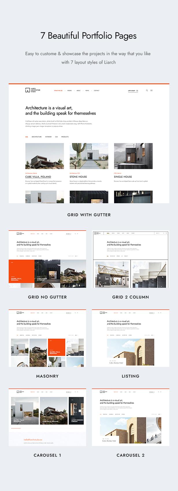 Liarch - Architecture & Interior WordPress Theme - 10