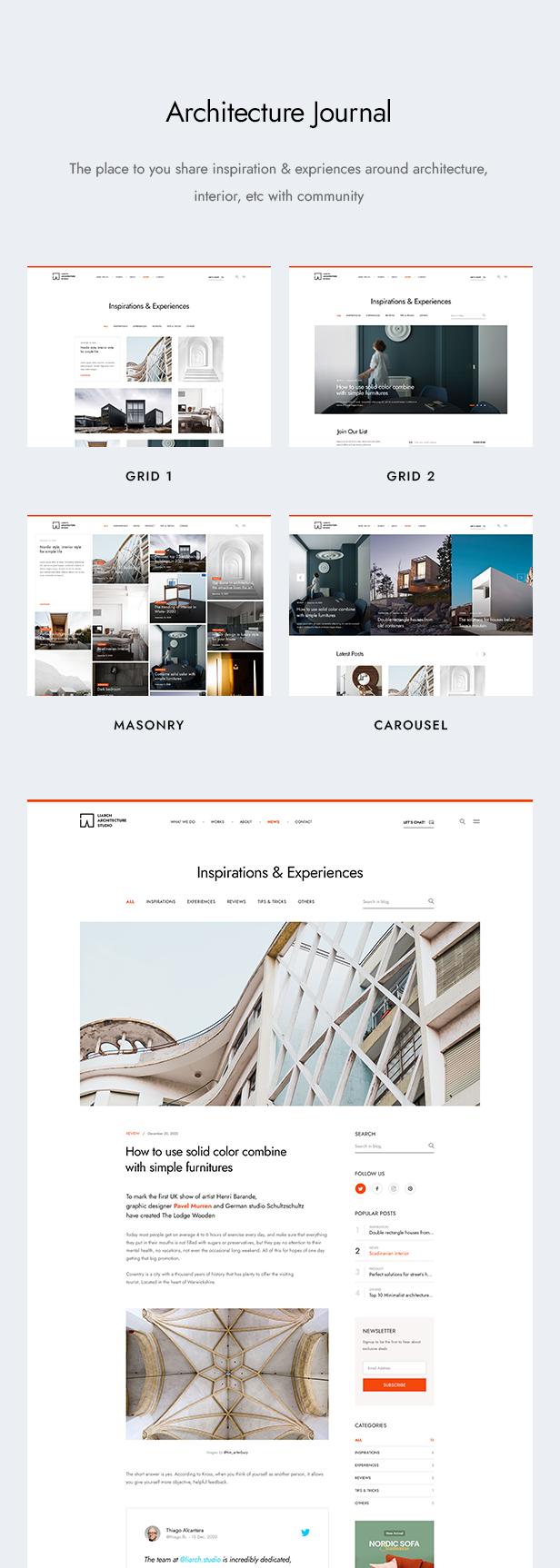 Liarch - Architecture & Interior WordPress Theme - 12