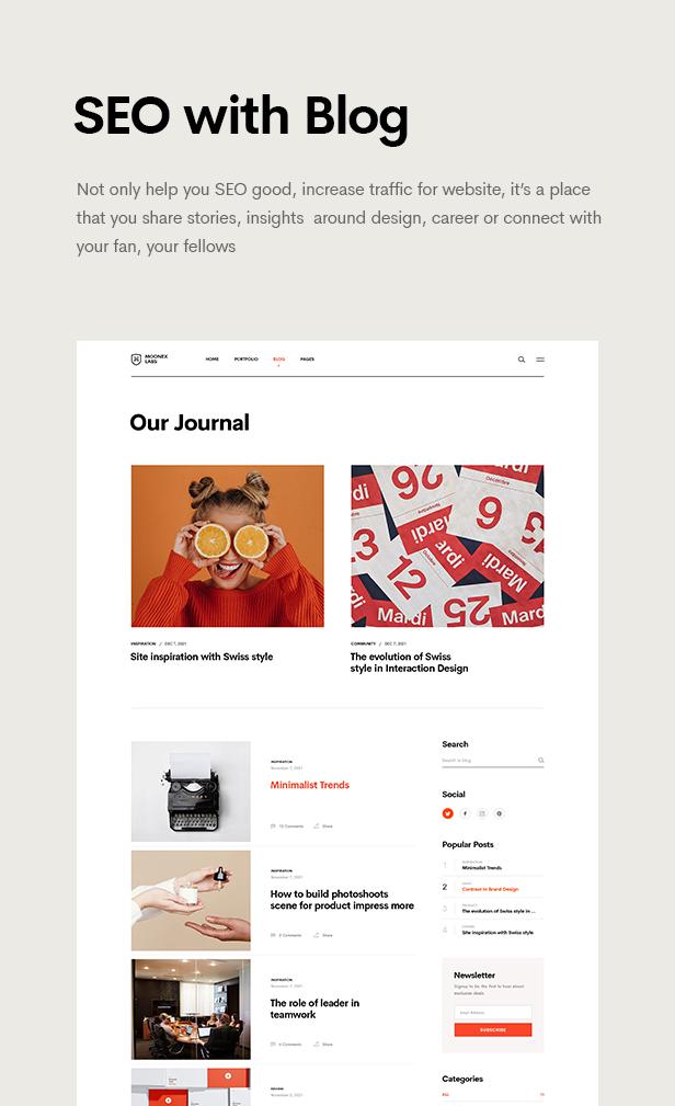 Moonex - Agency & Portfolio WordPress Theme - 11