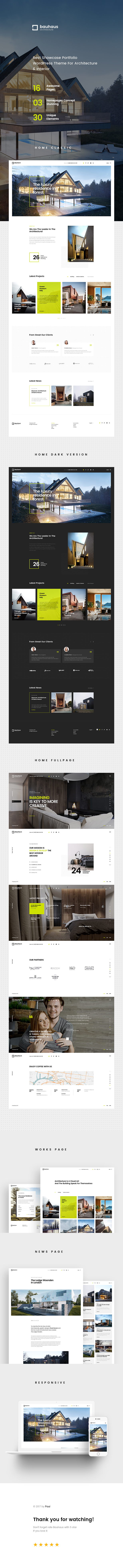 Bauhaus - Architecture & Interior WordPress Theme - 5