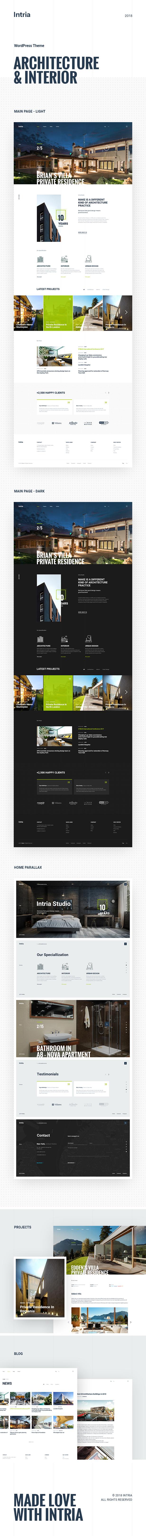 Intria - Architecture and Interior WordPress Theme - 5