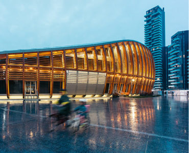 The Amazing Of Roof With Wood's Structure By Ron Architect