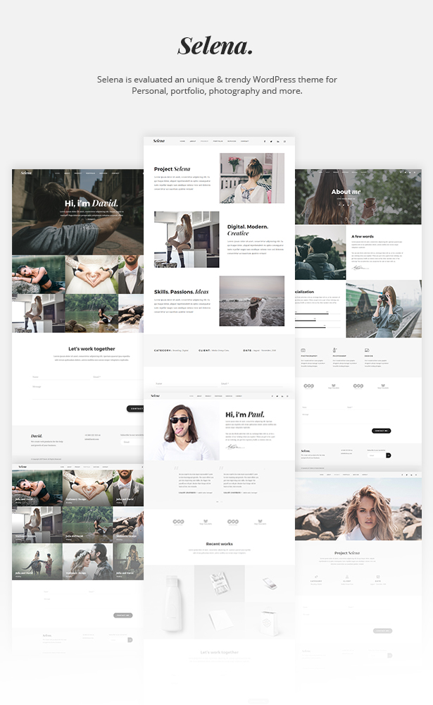 Selena. - Multipirpose WordPress Theme